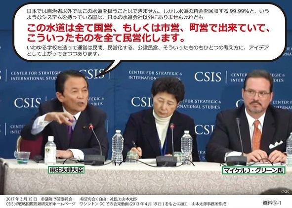 CSIS公演麻生太郎
